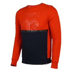ADIDAS NEO ORANGE AND NAVY SWEATSHIRT AB8715AB8716 Adidas Neo, Orange, Navy, Sweatshirts, Long Sleeve, Sleeves, Sweaters, Mens Tops, T Shirt