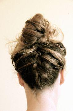braid in a bun