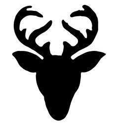 Reindeer silhouette wall art