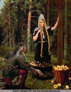"""Iðunn,  Idunn, (means """"forever young"""" pr. EE-doon aka Iduna, Idunna or Ithun) was the goddess of youth, fertility and regeneration as well as the wife of Bragi. Iðunn appears in the Poetic Edda poem Lokasenna and appears in some modern editions of the Poetic Edda, in the late poem Hrafnagaldr Óðins. The Aesir maintained their immortality by eating the golden apples of the sweet and beautiful goddess Iðunn."""