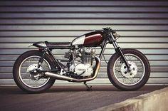 #Yamaha #xs650 #caferacer - Klassik Kustoms