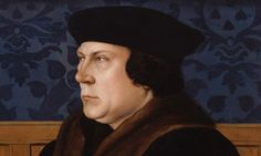 Waiting for the Hilary Mantel book to come out--Detail of Thomas Cromwell, Earl of Essex after Hans Holbein the Younger (1727). Click on the magnifying glass to see the full painting.