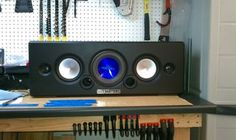 This thing is simply a gigantic ipod boombox......just way doper!  I wanted to fully build a blasting boombox for my garage and here it is.  The enclosure...