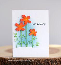 Memory Box Painted Flower Stems…