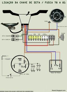 Reverse Light Wiring Diagram | Design I Like | Vw beetles, Beetle, Vw engine