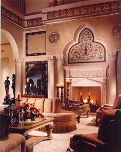 Old World Meditterranean style / Perla Lichi Design