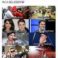 Forever and Always...Till my last heartbeat...I'll be a belieber...no matter what