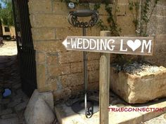 Rustic Wedding Signs Romantic Outdoor Weddings by TRUECONNECTION, $30.00