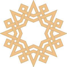 A composition I made inspired by a Tunisian pattern Islamic geometric design Islamic Art Pattern, Arabic Pattern, Geometry Pattern, Geometry Art, Pattern Art, Motifs Islamiques, Afrique Art, Graph Paper Art, Arabesque Pattern
