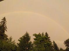 Glen Bernard Camp rainbow