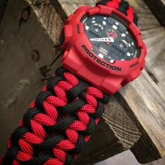 Double Cobra Gshock  #watch #gshock #watchband #tactical #edc knottydans.com #paracord #whatsonyourwrist we accept visa/master card just click on pay with PayPal and choose pay with credit card no pay pal required