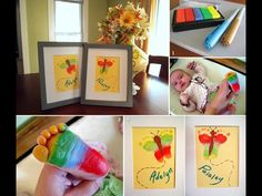 What a clever idea for new baby.