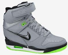promo code a5c0c d8e96  esty Sale Cheap Nike Shoes 2015 Nike Air Revolution Sky HI Cement Grey  Black Pale Green