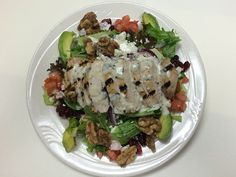 "Cranberry Walnut Chicken Salad - ""This is our most popular item at our Creative Corner,"" says Bill DeCicco, director of food and nutrition at the Mayo Clinic. ""We serve over 300 of these when it is featured on the menu."""