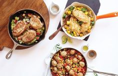20-Minute Skillet Suppers