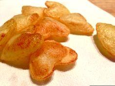 jolis petits coeurs... pomme de terre soufflées !