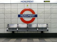 London Tube Station - Monument by Marionzetta - #London #travel #photography