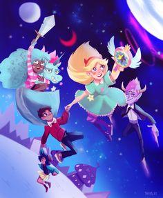 star vs forces of evil V Force, Force Of Evil, Starco, Gravity Falls, Evil Art, Star Wars, Star Butterfly, Cartoon Shows, Star Vs The Forces Of Evil