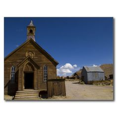 Bodie Methodist Church Post Cards by Florals by Fred #zazzle #gift #photogift
