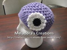 Butterfly Stitch Beanie - Meladora's Creations Free Crochet Patterns & Tutorials