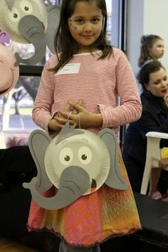 What circus animal do you want to be? Each child gets one animal for the week and they do crafts for that circus animal! Also take pictures of them as their animal and make a circus book!