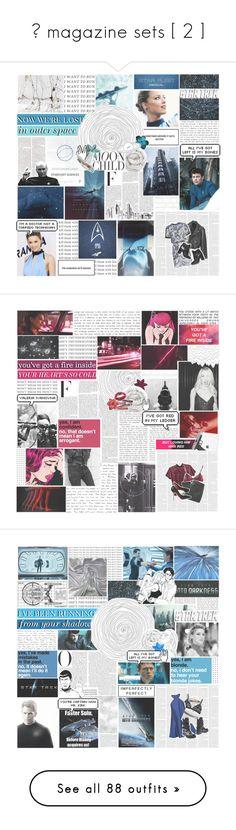 """✧ magazine sets [ 2 ]"" by etoilesdanse ❤ liked on Polyvore featuring Nicki Minaj, Karl Lagerfeld, Brinkhaus, Tempaper, Jean-Paul Gaultier, self-portrait, Pierre Hardy, Anja, Brooks and Prescriptives"