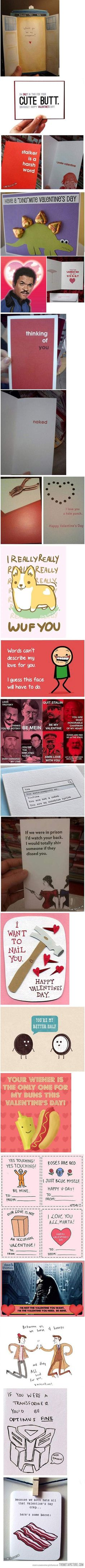 Valentine's is way over but these are really funny