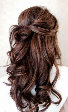interessante Frisur für langes Haar