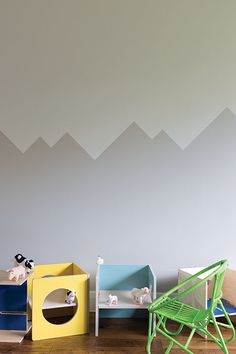 Nursery Painted In Farrow & Ball Purbeck Stone And Ammonite