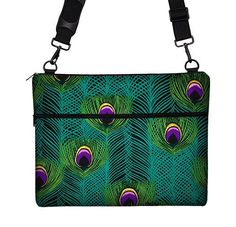 Macbook Pro RETINA Case / 15 inch Laptop Bag for MacBook Pro Retina Display / Messenger Laptop Bag  Peacock Feathers teal purple (MTO) on Etsy, $74.99
