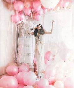 #pink #ballons #rosa #balão #conceito