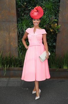 Brodie Worrell pictured at The Birdcage at Flemington Racecourse in Melbourne at the 2015 running of The Melbourne Cup. Picture: Richard Dobson