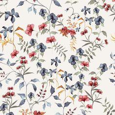 PULL&BEAR | soft floral print, Summer17 on Behance Floral Print Design, Floral Print Fabric, Floral Prints, Small Flowers, Floral Flowers, Flower Art, Pattern Art, Print Patterns, Accent Wallpaper