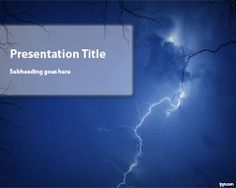 Storm PowerPoint Template | Free Powerpoint Templates