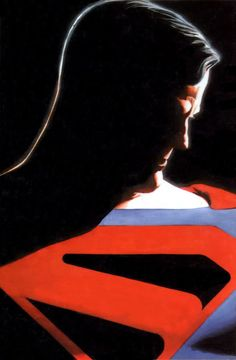 Kingdom Come Superman by Alex Ross - Modern Superman Man Of Steel, Superman Wonder Woman, Black Superman, Arte Dc Comics, Fun Comics, Alex Ross Kingdom Come, Mundo Superman, Superman Artwork, Mark Waid