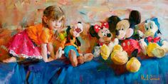 Drawing For Kids Disney Art Prints 59 Super Ideas Drawing For Kids, Art For Kids, Disney Fine Art, Disney Kunst, Beautiful Paintings, Artist At Work, Impressionist, Les Oeuvres, Original Paintings