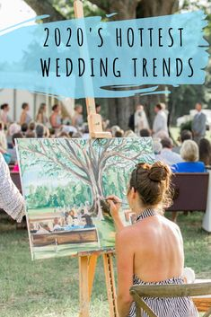 This includes THE hottest wedding trends of 2020, and guess what? They're all customizable so you and your other half can have an amazing wedding, without worrying about it being cookie-cutter! Check these trends out! #weddingtrends #2020wedding #2020weddingtrends #weddinginspiration #weddinginspo #personalized #love