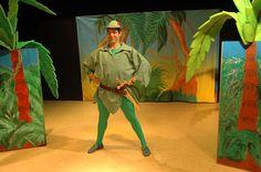 Peter Pan, obra de teatro en inglés para gira de teatro escolar de Haz Teatring