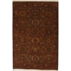 """Hand Knotted Rug 6'0"""" X 9'0""""   HOM Furniture"""