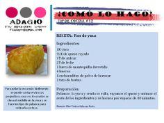receta pan de yuca