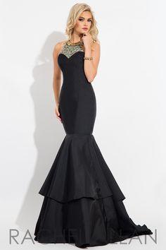 Princess Prom Dresses   RACHEL ALLAN Princess   Style - 2115   Color - BLAC