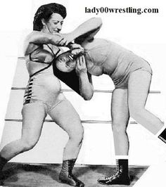 June Byers vs Mildred Burke Greatest Woman Wrestling Match Aug 1954