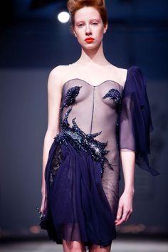 "Defilé On Aura Tout Vu Couture Printemps-Eté 2012 by Yassen Samouilov & Livia Stoianova- ""High Light Fire"""
