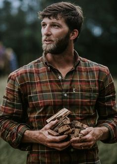 Buy the the Huntsman Plaid Fairbanks Flannel Work Shirt for hard working, rugged, craftsman by Buffalo Jackson Trading Co Lumberjack Outfit, Lumberjack Style, Lumberjack Clothing, Flannel Shirt Outfit, Mens Flannel Shirt, Rugged Style, Gq, Best Street Style, Outdoor Men