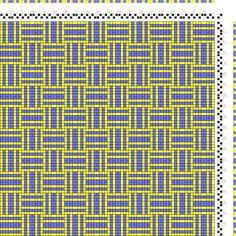 draft image: Karierte Muster Pl. X Nr. 1, Die färbige Gewebemusterung, Franz Donat, 2S, 2T