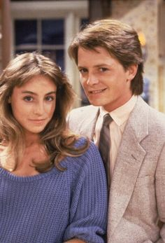 Tracy Pollan & Michael J. Fox -- Who says celebrity marriages don't last? Cutest Hollywood couple ever.