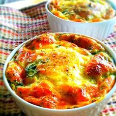"Quick Quiche Allrecipes.com   ""When you don't have the time to make a pastry crust, try this quick lunch idea. You may add any other goodies you like, such as ham, chicken, crab, shrimp or broccoli.""  Wedding brunch recipe, breakfast recipe"