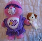 Care Bears Take Care Bear HTF with robe and doll plush - BEAR, Bears, Care, Doll, PLUSH, robe, TAKE