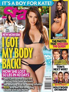 Kim Kardashian weight loss PHOTO: Star magazine cover shows 50-pound post-pregnancy body