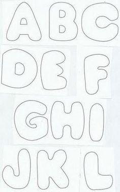 Felt-Aholic ♥ ♥ Molds and pap Felt and Felt stamped! Felt Patterns, Applique Patterns, Stencils, Alphabet Templates, Felt Templates, Felting Tutorials, Sewing Appliques, Alphabet And Numbers, Felt Ornaments